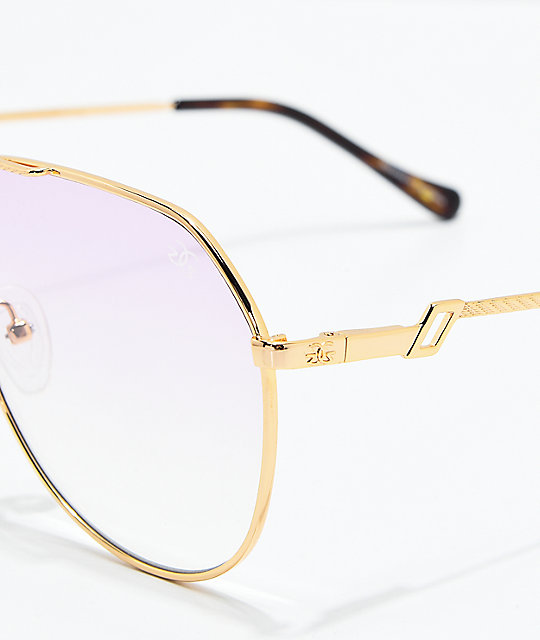 a40b759b60d ... The Gold Gods The Escobar Pink Gradient Sunglasses
