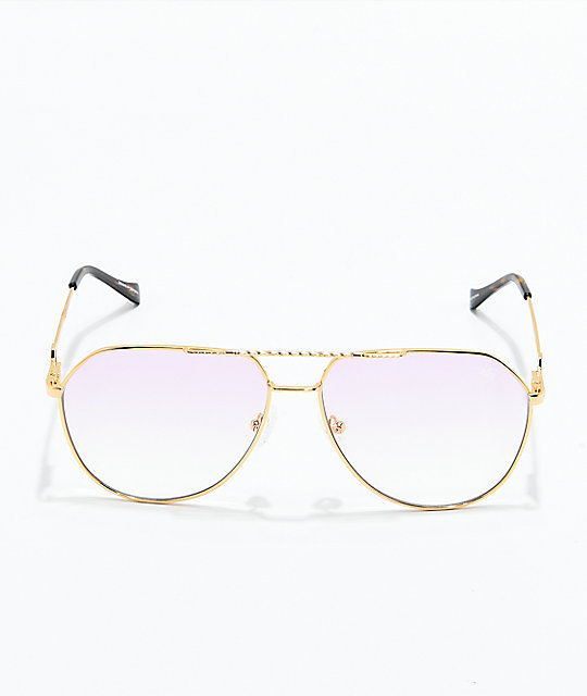 3c9f77a48ff ... The Gold Gods The Escobar Pink Gradient Sunglasses ...