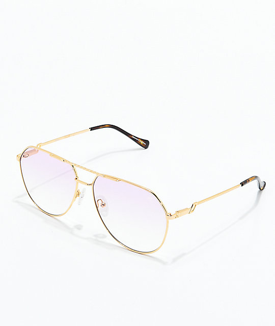 f58aabd625d The Gold Gods The Escobar Pink Gradient Sunglasses