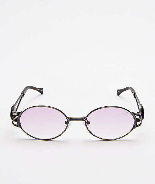 The Gold Gods x Fabolous Ethos Black & Pink Sunglasses