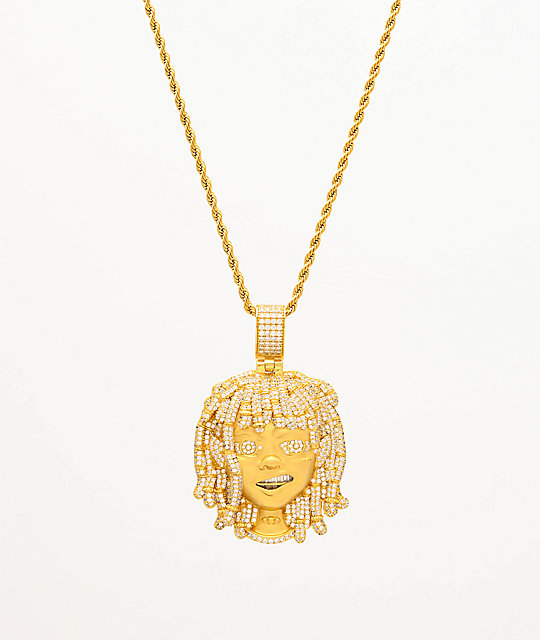 The Gold Gods x Lil Pump Iced Face 22