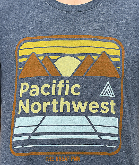 The Great PNW Bittner camiseta azul marino