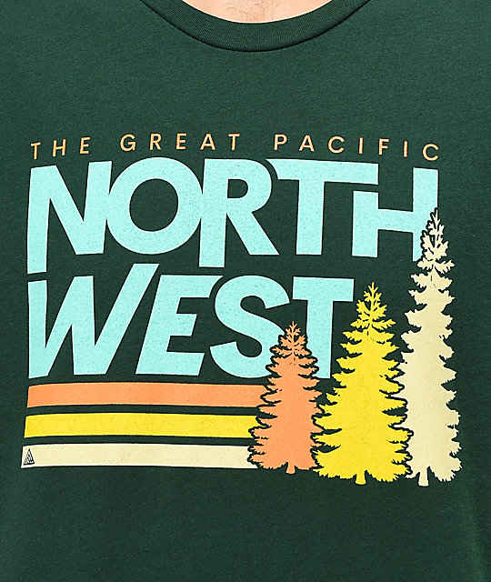 The Great PNW Lift camiseta verde