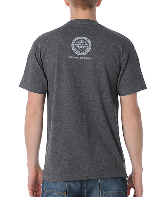 The Gro Project Diamond Charcoal T-Shirt