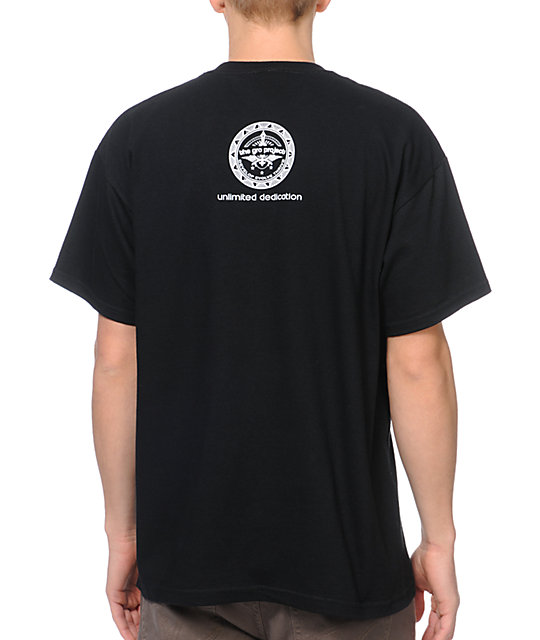 The Gro Project Heavy Rotation Black T-Shirt