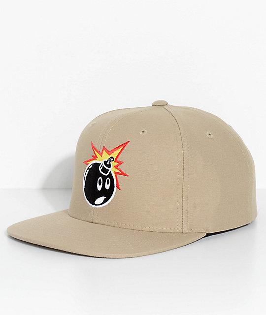 The Hundreds Adam Khaki Snapback Hat  483a5772fb7