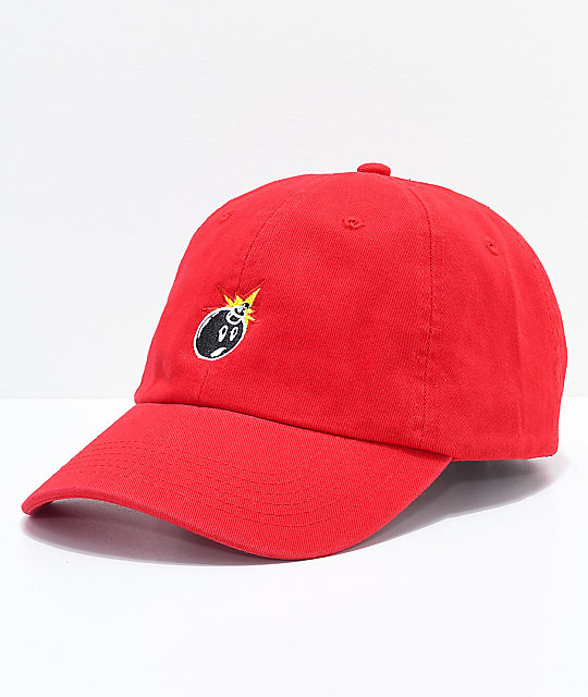 The Hundreds Adam Red Dad Hat