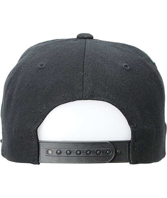 The Hundreds Adam Snap Black Snapback Hat