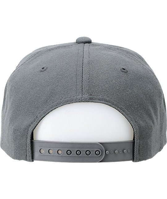 The Hundreds Adam Snap Grey Snapback Hat