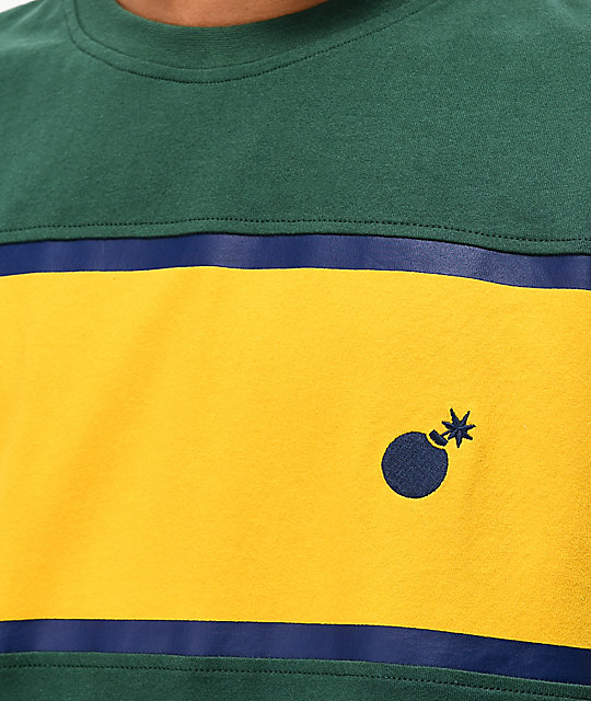 The Hundreds Anthem camiseta verde