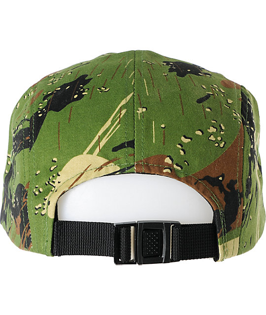 The Hundreds Assembly Camo 5 Panel Hat