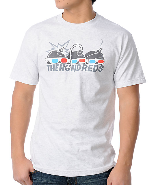 The Hundreds B-Movie Ash Grey T-Shirt
