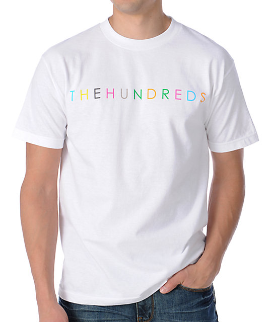 The Hundreds Basically Hundreds White T-Shirt