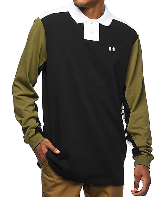 The Hundreds Bond Long Sleeve Polo Shirt