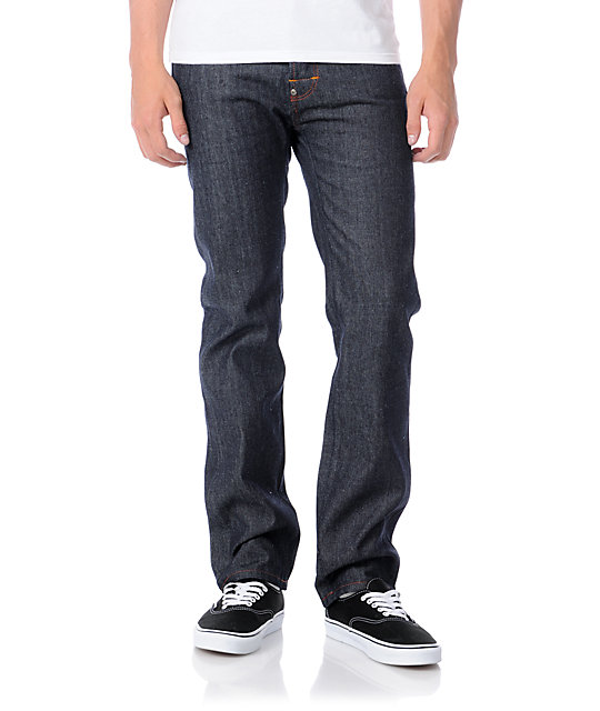 The Hundreds Classic Indigo Blue Regular Denim Pants