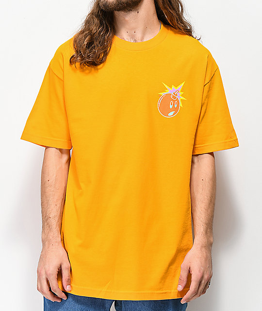 The Hundreds Color Adam camiseta dorada