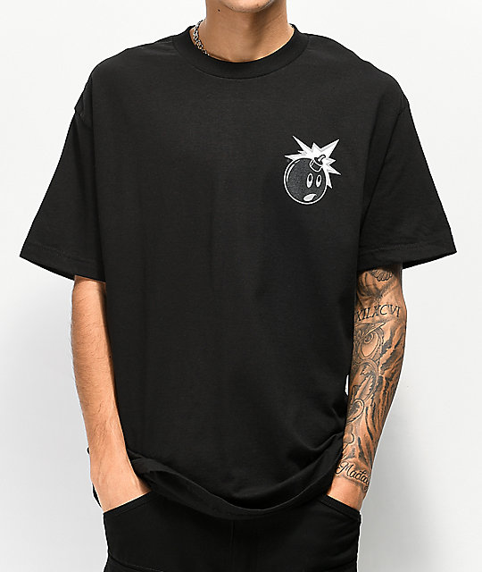 The Hundreds Color Adam camiseta negra