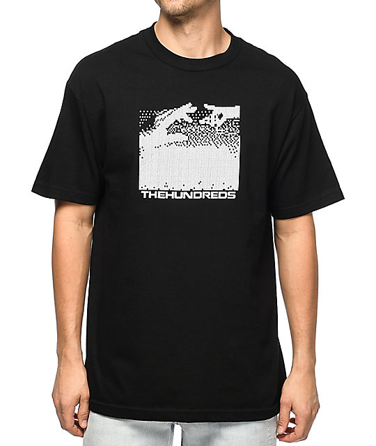 The Hundreds Connected Black T-Shirt