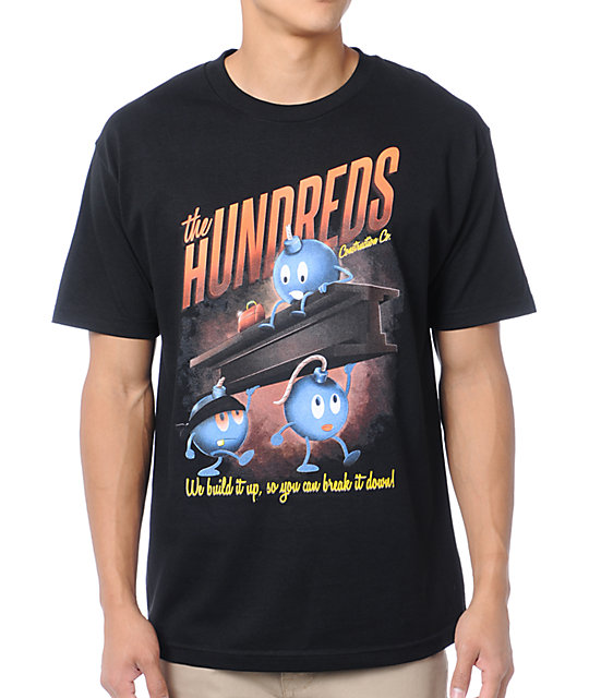 The Hundreds Contractors Black T-Shirt