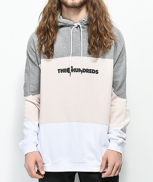 The Hundreds Coropus Grey Hoodie