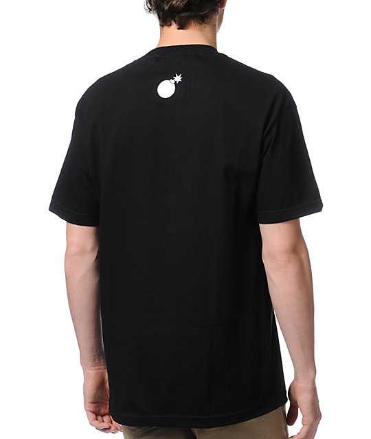 The Hundreds Coyote Black T-Shirt