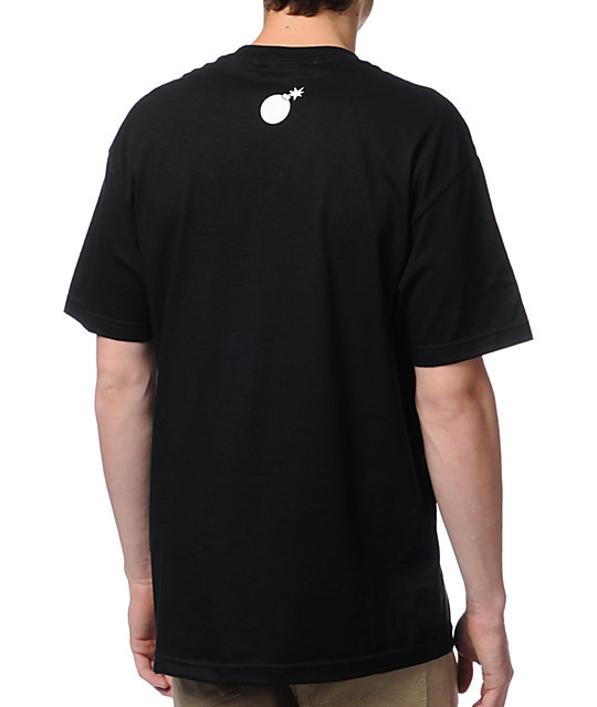 The Hundreds Crater Black T-Shirt