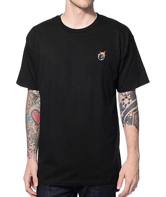 The Hundreds Crest Adam Black T-Shirt