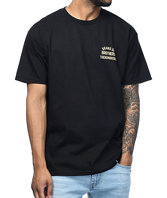 The Hundreds Cycle camiseta negra