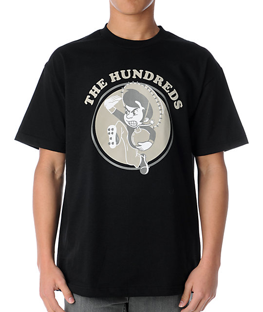 The Hundreds Dawns Black T-Shirt
