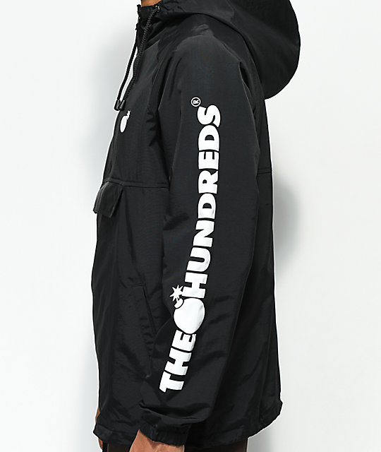 The Hundreds Dell 2 chaqueta negra