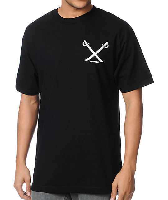 The Hundreds Division Black T-Shirt