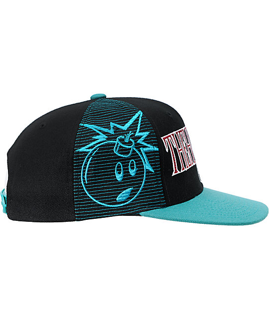 The Hundreds Draft Black Snapback Hat