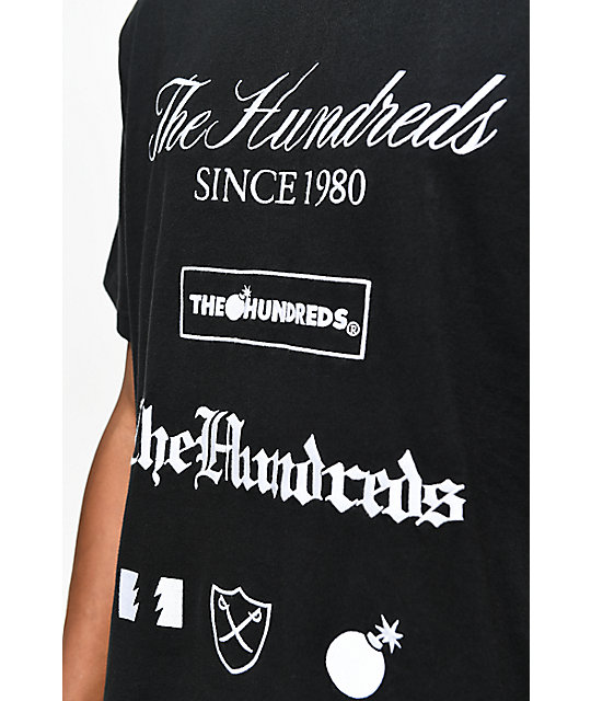 The Hundreds Dunn camiseta negra