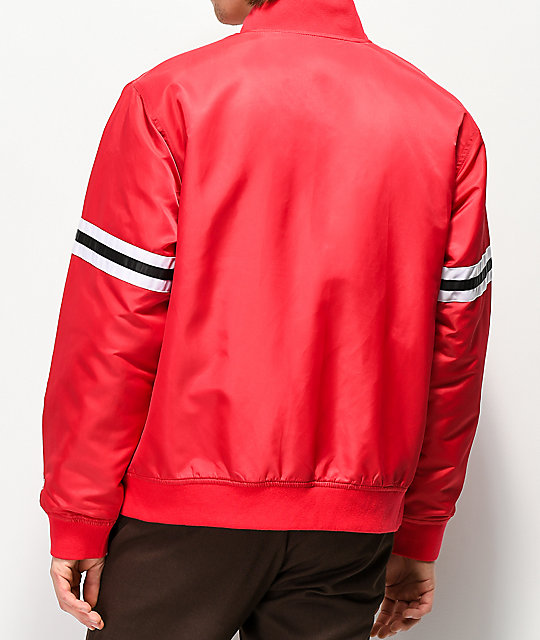 The Hundreds Ender Red Jacket