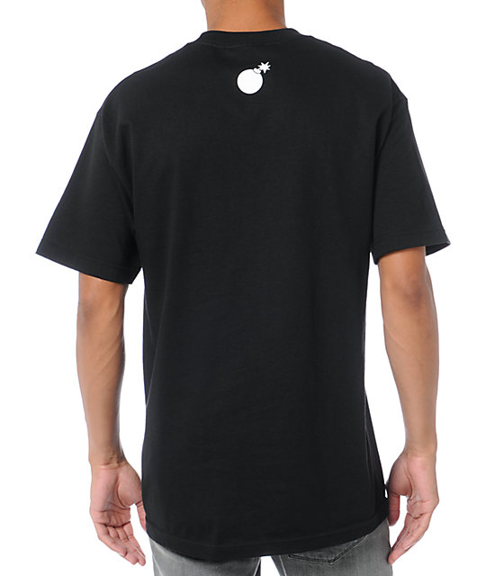 The Hundreds Error Slant Black T-Shirt