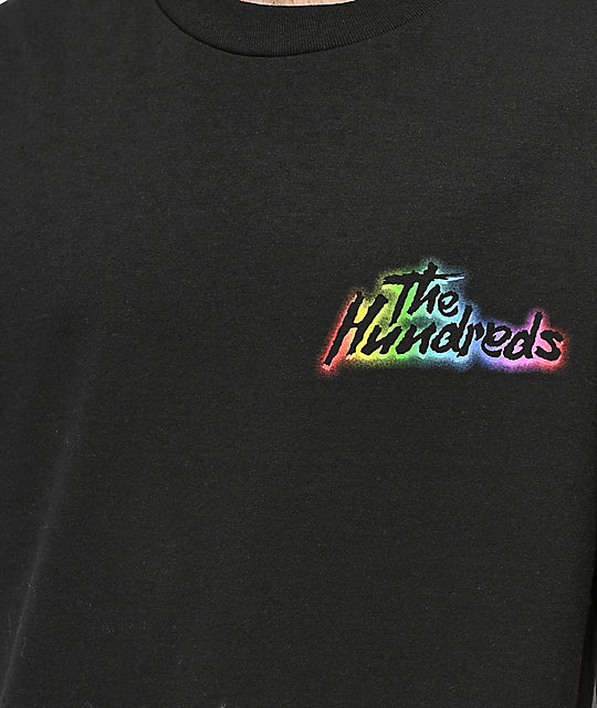 The Hundreds Faster camiseta negra