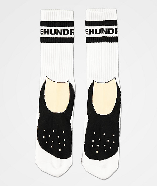 The Hundreds Footy calcetines blancos