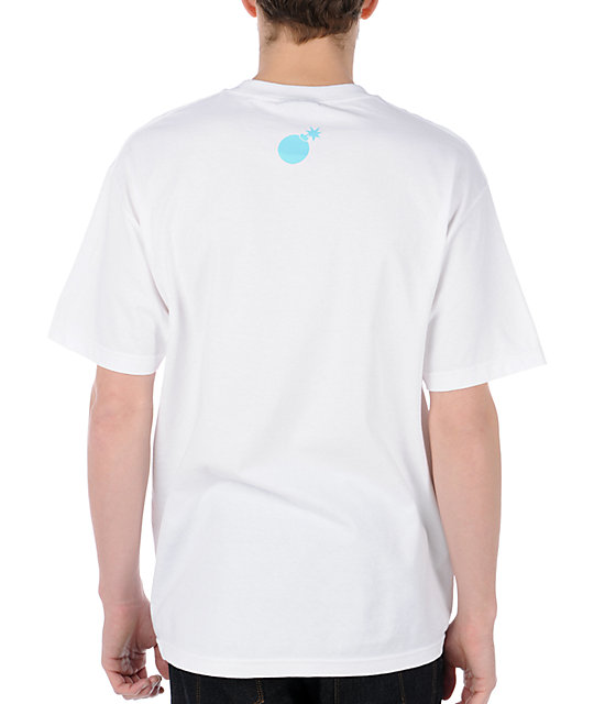 The Hundreds Forever Bar Logo White T-Shirt