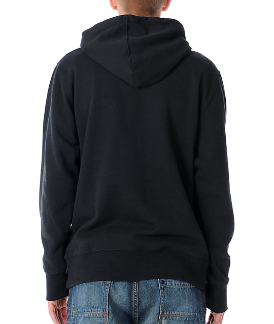 The Hundreds Form Black Pullover Hoodie