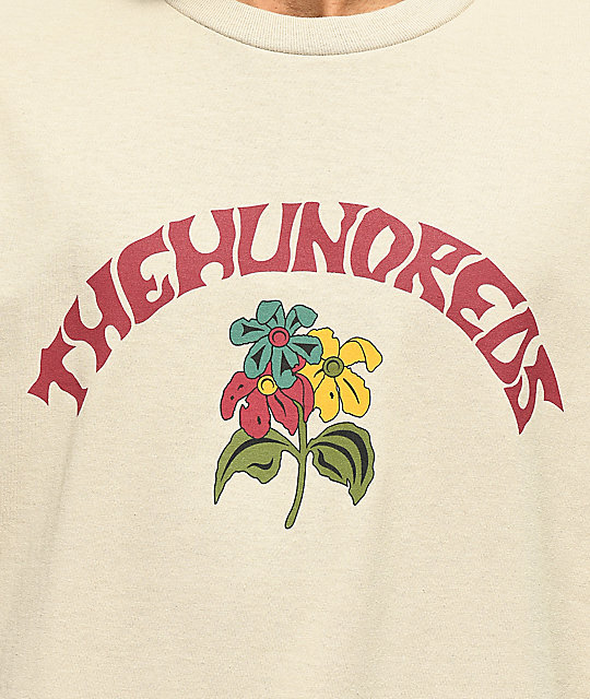 The Hundreds Generation camiseta beige