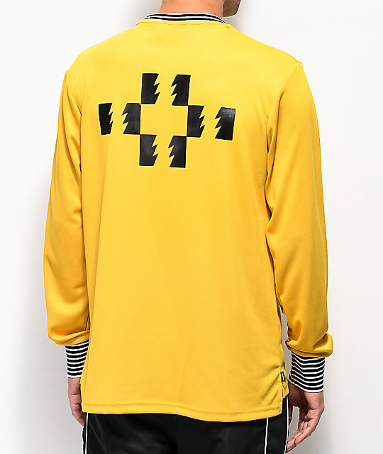 The Hundreds Howard Gold Long Sleeve Jersey