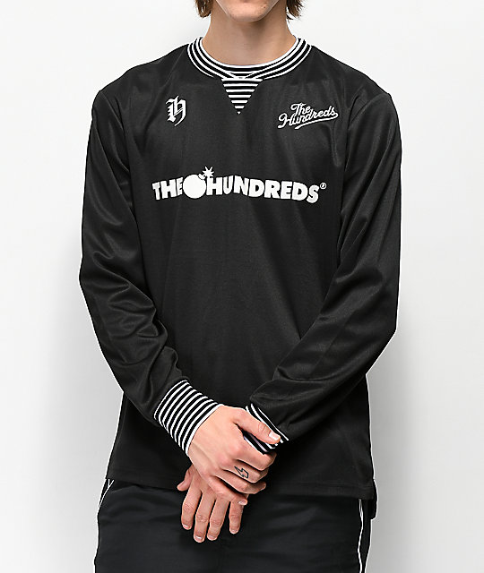 The Hundreds Howard jersey de manga larga negra