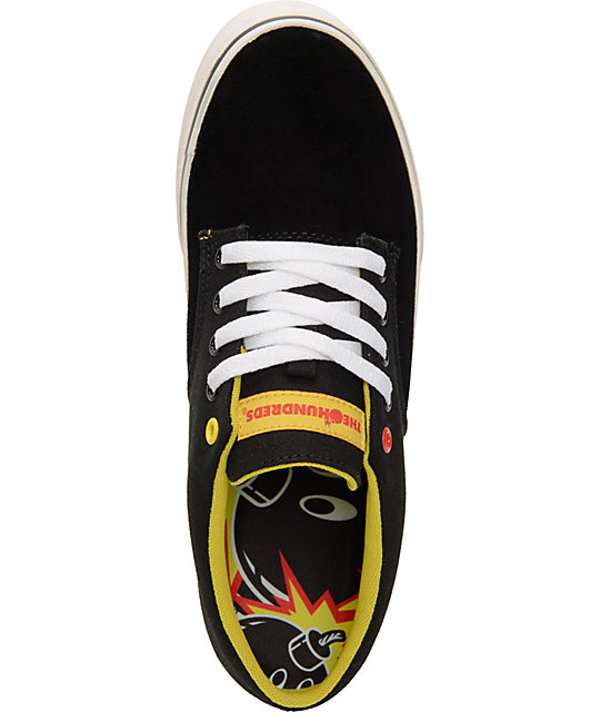 The Hundreds Johnson Black Suede Shoes