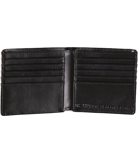 The Hundreds Kingpin Geo Bifold Wallet