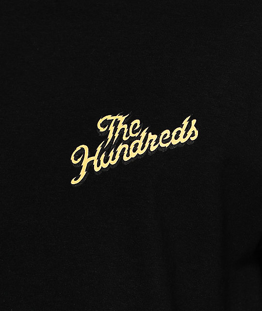 The Hundreds Lightning Slant Black T-Shirt