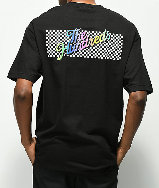 The Hundreds Line Slant Black T-Shirt