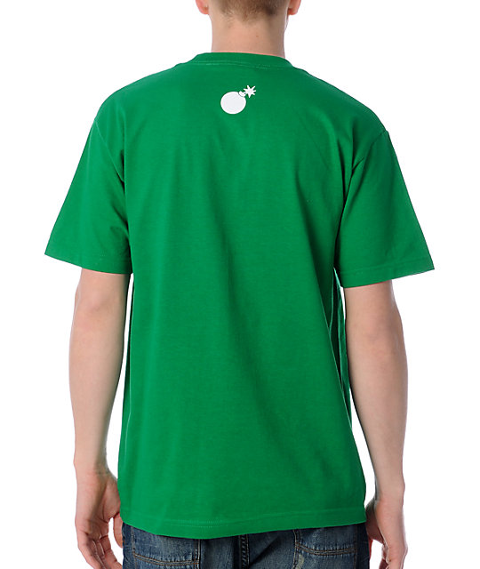 The Hundreds Logo Kelly Green T-Shirt