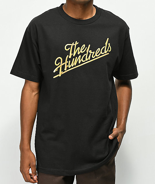 The Hundreds Modesto Slant Black T-Shirt