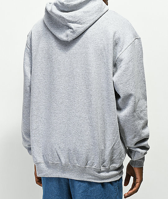 The Hundreds Modesto Slant sudadera con capucha gris