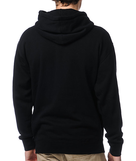 The Hundreds Old English Black Pullover Hoodie